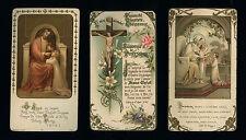 lotto santini-holy cards lot-lot images pieuses-konvolut heiligenbildichen n.416