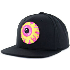 "Mishka NYC ""Keep Watch"" Woven Snapback Hat (Black) SU16 Men's Eyeball Patch Cap"