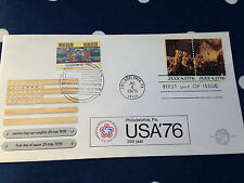 Netherlands USA 200 year Bicentennial special cover with FDC mark from both !!