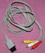 ORIGINAL NINTENDO WII Cable Audio/vidéo RCA Officiel NINTENDO RVL-009 (EUR)