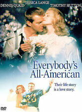 EVERYBODYS ALL AMERICAN JESSICA LANGE DENNIS QUAID NEW DVD