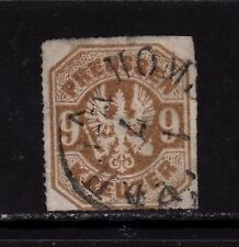 PREUSSEN PRUSSIA GERMAN STATES Mi. #26 rare stamp w/ first day cancel! TOP!!
