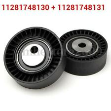 Belt Tensioner Pulley & Idler Pulley Kit For BMW E36 E46 E39 325I 330I 525I 530I