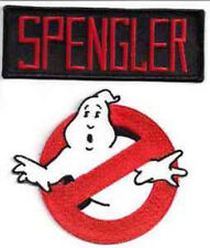 """Set of 2 GHOSTBUSTERS-Spengler Screen Accurate 4"""" Patch Set (GBPA-Set2)"""
