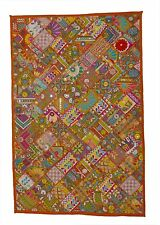 Banjara Ethnic Handmade Tapestry Tribal Fine Old Patch Work Wall Hanging