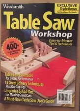 Woodsmith Table Saw Workshop Tips Techniques Essentials Fall 2015 FREE SHIPPING!