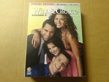 4-DISC DVD BOX / WILL & GRACE - SEIZOEN 2