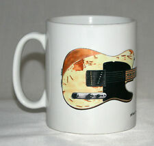 Guitar Mug. Jeff Beck's 1954 Fender Esquire illustration.