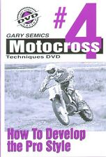 Motocross MX How To Skills Technique DVD #4 from Volume 1 by Gary Semics