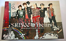 SHINee The First  Limited Edition Japan Press CD+DVD Box Calendar Photobook