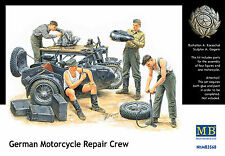 MASTER BOX™ 3560 WWII German Motorcycle Repair Crew Figuren in 1:35