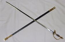 """US ARMY PRESENTATION NCO SWORD 33"""" MADE IN SPAIN USED"""