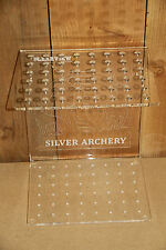 ARROW RACK/DISPLAY FOR 48 ARROWS- FREE STANDING OR WALL MOUNTED