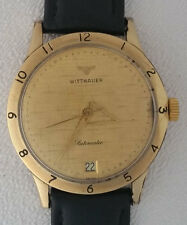 Vintage Wittnauer Automatic Cal. C11SN 10K GF  Watch Works & Keeps Time