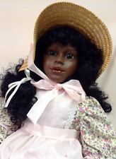 "24"" FIBA JASMINE LTD ED DOLL NO BOX DARK HAIR & EYES AFRICAN AMERICAN NEW #4321"