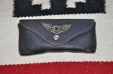 Ralph Lauren RRL Distressed Vintage Leather Sunglasses Case Holder