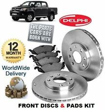 FOR TOYOTA HILUX 2.5TD D4D 4x4 2005-2008 FRONT BRAKE DISCS SET & DISC PADS KIT