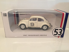 Herbie 53 Lovebug VW Beetle 1:24 Scale Lucky Diecast Company 24202 NEW