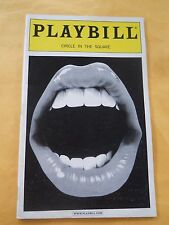 August 2001 - Circle in the Square Theatre Playbill - The Rocky Horror Show