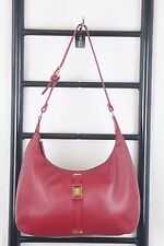 ETIENNE AIGNER RED LEATHER  HOBO BAG