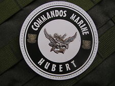 Patch Velcro PVC - COMMANDOS MARINE HUBERT - art Fantaisie - nageur de combat