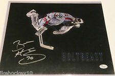BRADEN HOLTBY AUTOGRAPHED SIGNED WASHINGTON CAPITALS 11x14 PHOTO JSA STICKER