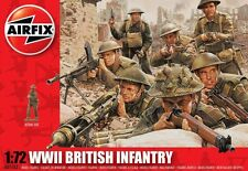 Airfix 1/72nd Scale British WWII Infantry Plastic Soldiers Set (new tool)