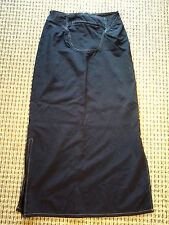 """CLEARANCE SALE, MIKEN CLOTHING CO. BLUE WOMEN'S SKIRT SIZE M. 3O"""" W 37"""" L"""