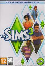 The Sims 3 III (Original Factory New Sealed for PC & MAC Game) in Box