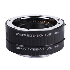 Auto Focus Macro Extension Tube DG-NEX 10mm+16mm for Sony NEX-5C NEX-C3 E-mount