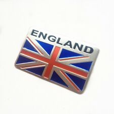 car truck auto England UK flag emblem sticker metal badge decal decor