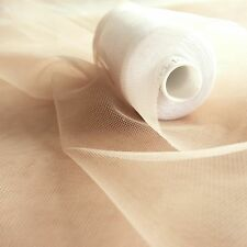 Super fine soft nude skin flesh coloured illusion mesh tulle fabric 150cm wide