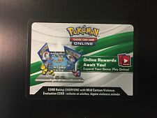 Pokemon TCG Hoenn Power SCEPTILE Tin Theme Deck Online CODE CARD - Email