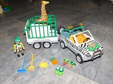 Playmobil Zoo Vehicle with Trailer #4855