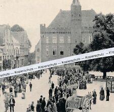 Wismar - Marktplatz - Rathaus - um 1925 - selten!  M 25-11