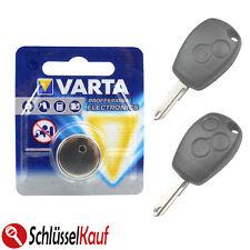 VARTA Autoschlüssel Batterie für Renault Clio Modus Twingo Dacia Duster Sandero