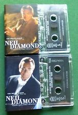 Neil Diamond The Movie Album As Time Goes By Cassette Tape x 2 - TESTED
