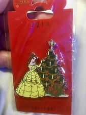 Disney Pin WDI - Beauty and the Beast - BELLE Christmas Tree, LE 250