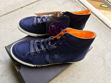 RARE!!! UNDEFEATED FOR X CONVERSE POORMAN WEAPON HI UNDFTD NAVY WHITE ORANGE 12