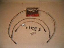 """CCI"" Steel Braided Brake Line Kit for Choppers - NEW!!"