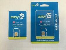 H2O EASYGO TRIPLE SIM Card- AT&T Network! Unlimited plans only $20 per month!