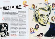 Coupure de presse Clipping 1997 Johnny Hallyday   (5 pages)