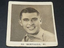 CYCLISME GLOBO GEANTS ROUTE TOUR 1936 N°32 ALDO BERTOCCO FRANCE CICLISMO
