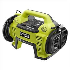Ryobi One+18V Cordless Air Inflator Compresser And Deflator Battery Not Included