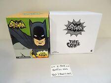 NEW DC Adam West BATMAN TV COWL Matty Collector 1966 prop Mask replica! Mattel!