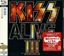 KISS III 2016 JAPAN RMST SHM CD - BRAND NEW FACTORY SEALED & GIFT PERFECT!