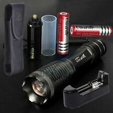 UltraFire LED 3000lm CREE XML T6 lampe torche+18650 Batterie+Chargeur+Holster DC