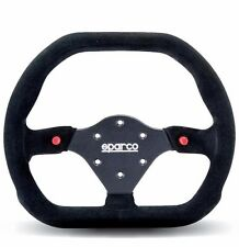 SPARCO STEERING WHEEL COMPETITION P 310 310MM BLACK SUEDE / BLACK SPOKE / FLAT