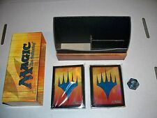 MTG Magic Modern Event Deck Empty Box 80 sleeves 1 spindown life counter