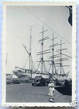 """photo ancienne . bateau Suédois . grand voilier """" le Viking Göteborg """""""